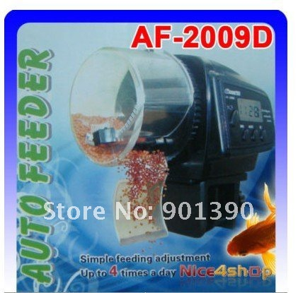 Digital Automatic Aquarium Fish Auto Feeder with Aquarium Food Feeder Timer auto pet feeder Freeshipping