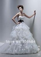 Free Shipping Wholesale Hot sale ! New white/ivor Elegant Wedding Dress Bridal Gown Custom Size