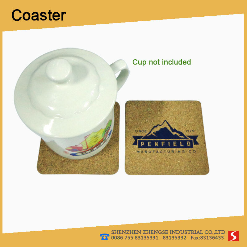 Hot sellings Marketing eco-friendly Cork Coaster
