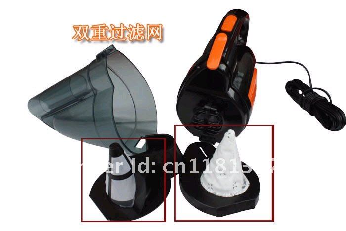 DC 12V 130W cyclonic power Dual fliter car/Auto vacuum cleaner car dust collector cleaner Automotive electronics
