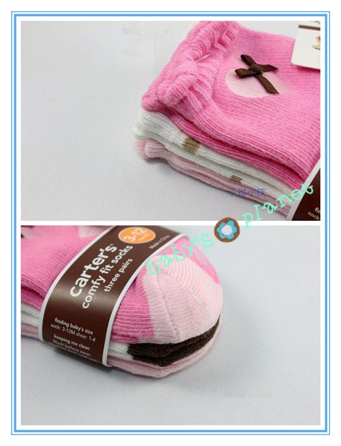 new freeshipping cotton baby socks /baby foot wear/baby crib shoes/carter kid winter socks/12pairs/lot