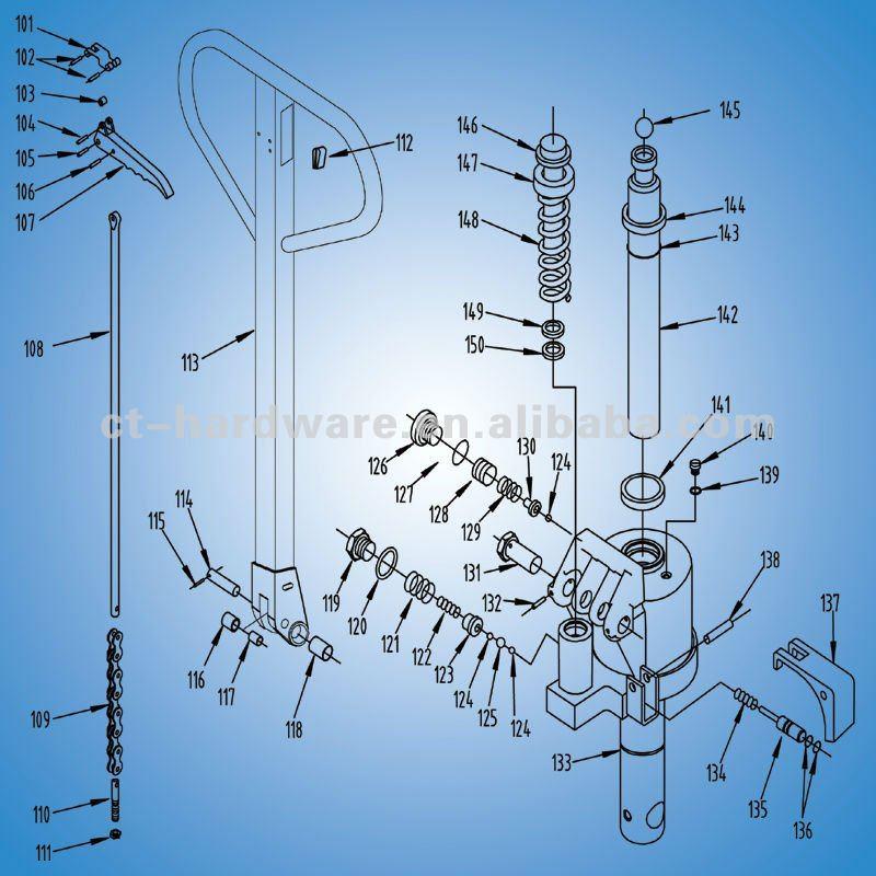 Pallet Jack Parts Diagram