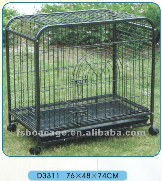 assemble dog cage 108X70X90cm