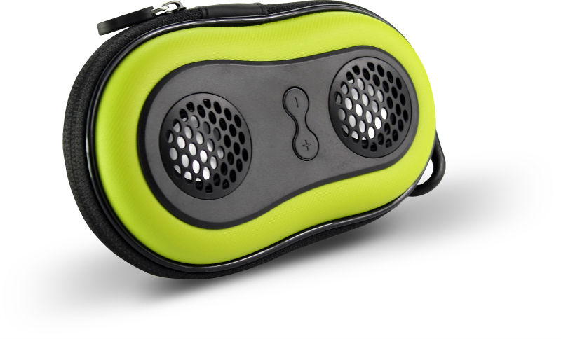 NEW STYLE amplifier speaker bag with built-in speaker and micro design for 2014 best promotion gift