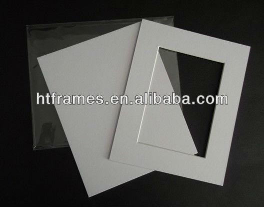 Acid Free Pre Cut Cream Custom Cutting Collage Mat Board