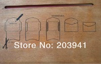 Freeshipping! New wooden envelope template Manual stencil mould make envenlops19.7 x 28cm