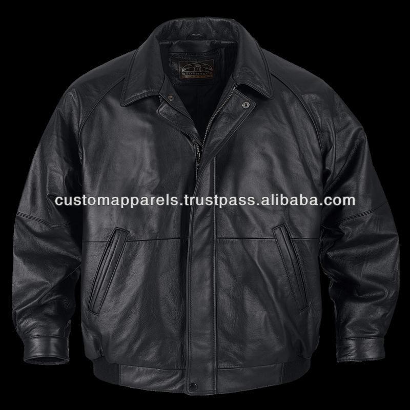 Plain Leather Jacket Mens Leather Jackets For Men