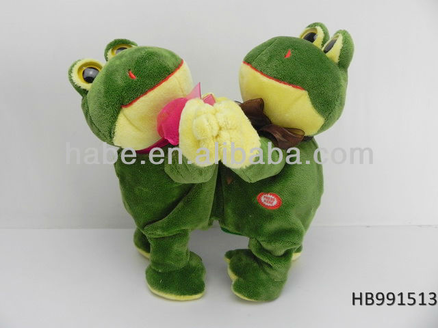 NEW monkey Stuffed plush repeating talking animal