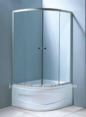 High tray shower stalls