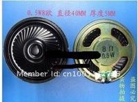 Электронные компоненты Repair Small speakers for MP3 MP4 FOR Mobile phone 0.5W 8 Europe / 8R diameter: 40MM 0.5 watt volume 4cm