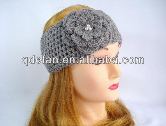 Hecho a mano de punto de invierno diadema, diadema crochet invierno al por  mayor