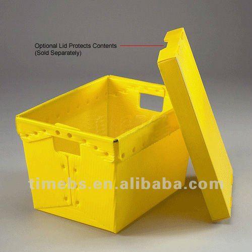 Alta qualidade de papelão ondulado caixa de correio de plástico