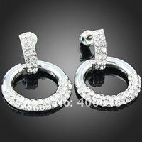 Серьги висячие Arinna Earring E1580 with Austria Element