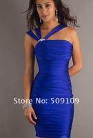 80% off Gorgeous Cocktail Dresses Sheath/Column Mini Taffeta Pleated Party Dresses