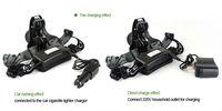 Светодиодный фонарик CREE T6 Rechargeable headlamp fishing lights Bike