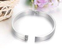 Titanium lover men's bracelet 8mm,316l stainless steel bangle,health bracelet