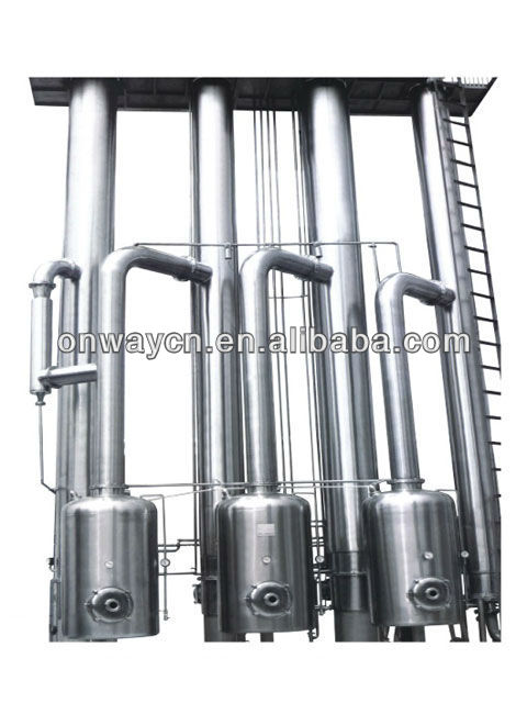SHJO high efficient double effect falling film evaporator