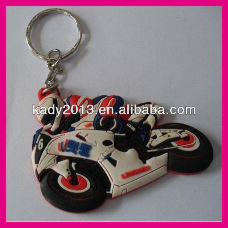 pvc motorcycle keyring,pvc motorbike keyring