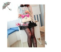 ZL5337 Personalized New Fashion Brand Designal PU Women Sweety Noble Bow Handbag Tote Clutch bag Shoulder Bag,2012 FREE Shipping