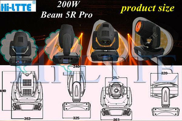 High qulity optical sharpy beam 200/ beam 230 night club accessories