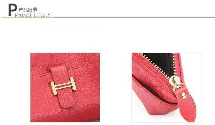 Free shipping NEW dumpling shape 100%Genuine leather  evening bag,clutch/wristlet bag w/ strap JJ0387