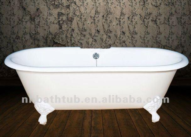 gusseisen badewanne/antiken clawfoot wanne/luxus freistehende, Hause ideen