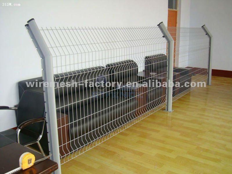 Vinyl Security Fence/Vinyl Lattice Fence/Vinyl Lawn Fence(Factory)