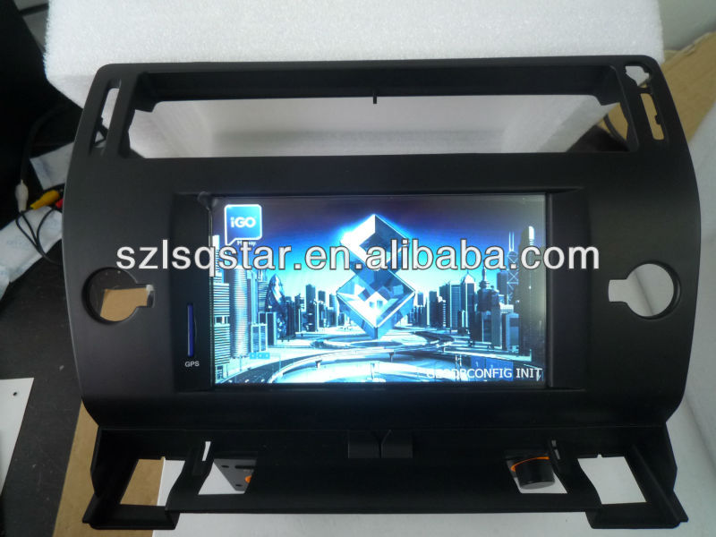Citroen c4 car dvd player with BT GPS bluetooth MP3 navigation CAN-BUS ST-2901 hotselling