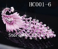 Ювелирное украшение для волос New Rhinestone Phoenix Fashion jewelry Hair accessories Hair clip, Barrette HC001