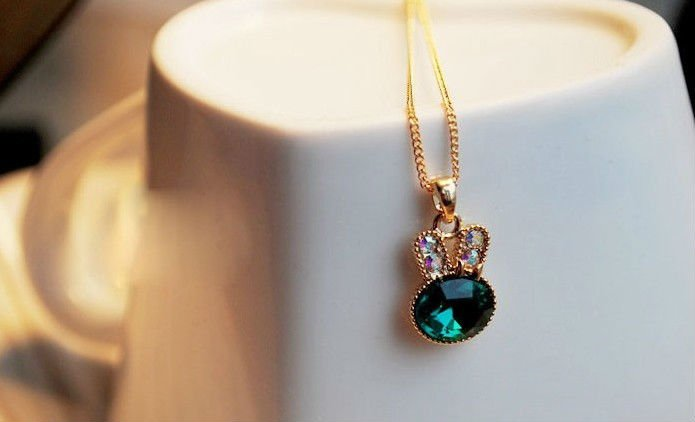Min.order is $15 (mix order) Rabbit short necklace jewelry
