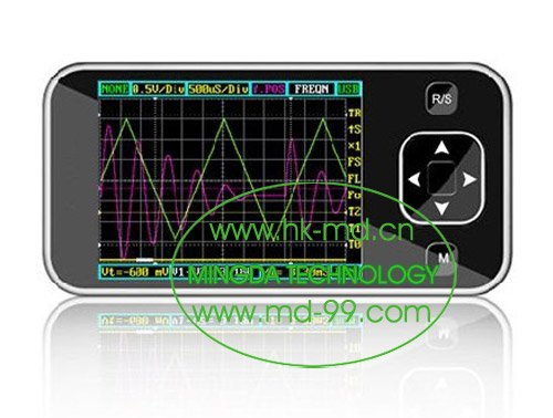 Freeshipping ARM DSO Nano dso201, Pocket-Sized Digital Oscilloscope with 2.8&quot; TFT LCD Module