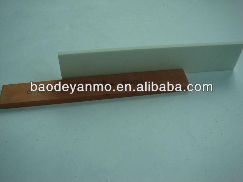 8'' corundum sharpening stone dual stone combination knife sharpener kitchen