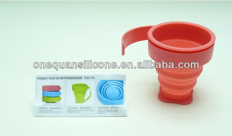 beautiful coffee mugs,silicone foldable cups