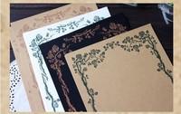 b европейские стили Крафт бумага бумаге письмо набор 8 Чжан