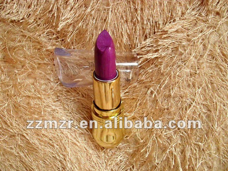 Golden bean fashion transparent makeup lipstick