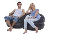 Диван Round double size sofa, inflatable sofa, flocked sofa