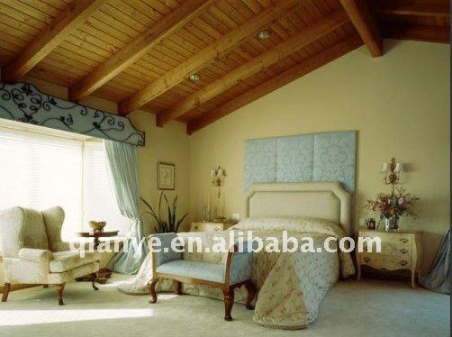أثاث غرف النوم الخشبية الكلاسيكية
