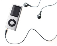 silver slim new 8gb mp3/mp4 player 4th Gen fm radio video free shipping