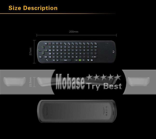 Wireless Keyboard Air Mouse Measy RC13 158325 7