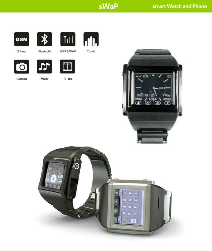 Hot selling Factory price bluetooth headset watch