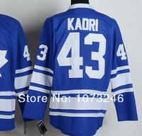 Хоккей Торонто болельщиками #19 Джоффри Лупул синий Джерси 3 Третий моды все сшивание вышивки 100%