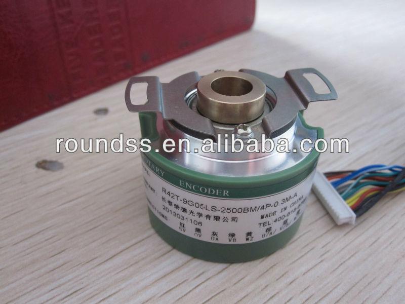 42mm Hollow Shaft Servo Motor Rotary Sensor Optical Incremental Encoder From Changchun Rongde