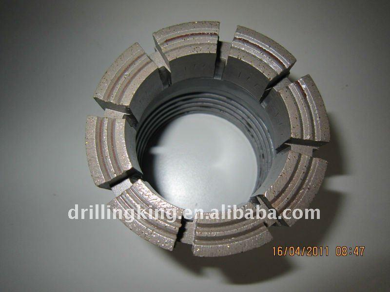 (AQ.BQ.NQ.HQ.PQ/AQTK.BQTK.BQ3.NQ2.NQ3.NQTT.HQ3.HQTT.PQ3.PQTT ) Diamond rock drill bits
