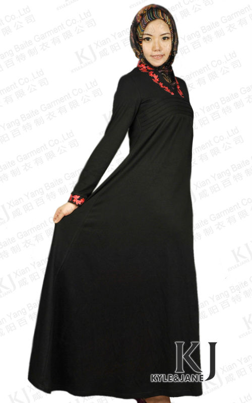 2013 Modesty New Design Abaya of Jeddah 2889