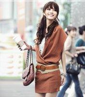 Free Shipping/2011 autumn outfit/V sleeveless dress/BianFuShan/sweater/RG8031