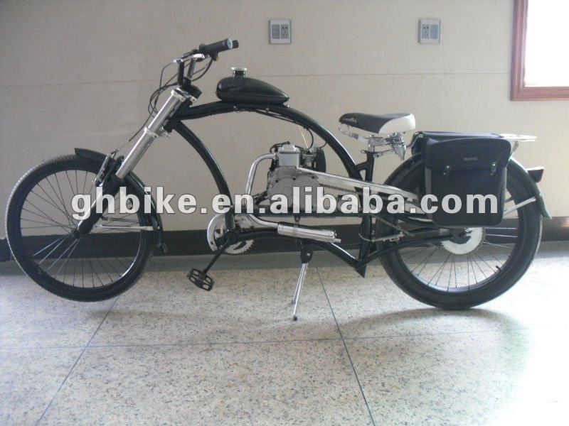 24inch beach cruiser gas 50cc engine bicycle
