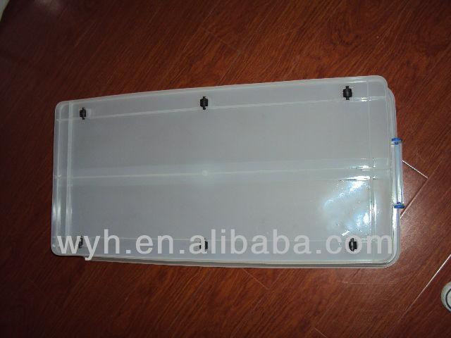Bac de rangement en plastique 35l sous le lit bo tes - Bac rangement plastique sous lit ...