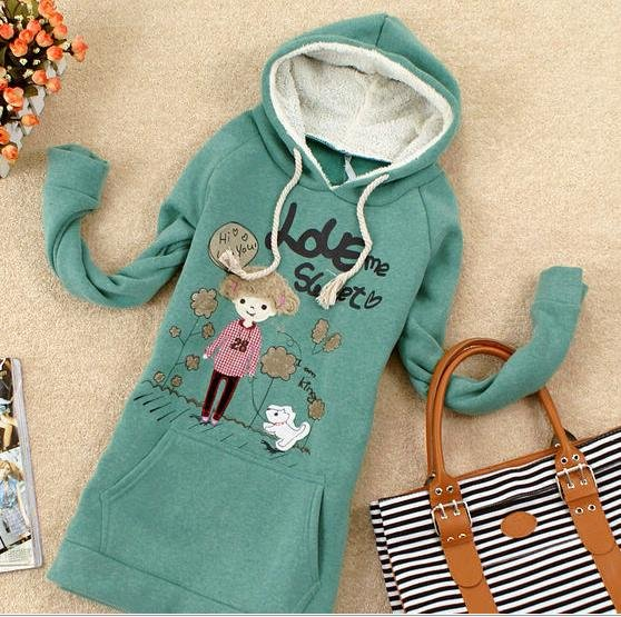 Free shipping,fleece hoodies,cartoon hoodies,slim hoodies,big size hoodies,wholesale and retail