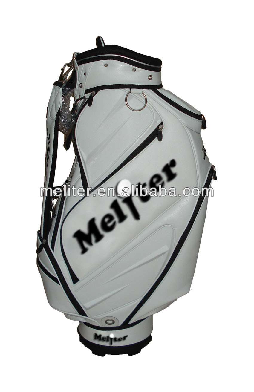 New Arrivel PU Leather Custom Personalized OEM Golf Bags