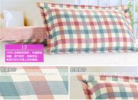 Наволочка home textile bedding 100% cotton stripe plaid printed pillow case, cartoon print pillowcase, pillow cover animal